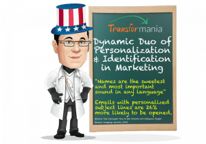 Dynamic Duo of Personalization and Identification to Boost Email Marketing Performance