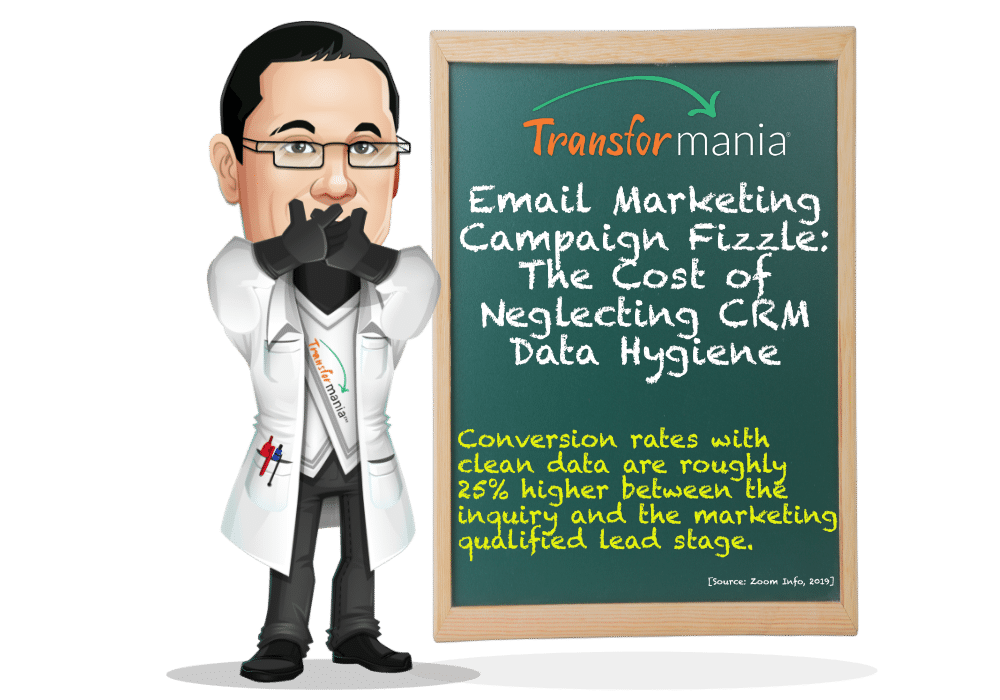Email Marketing Campaign Fizzle: The Cost of Neglecting CRM Data Hygiene