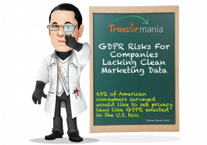 GDPR Risks For Companies Lacking Clean Marketing Data