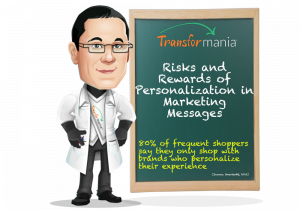 Risks and Rewards of Personalization in Marketing Messages